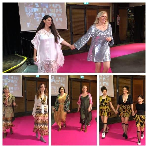 תצוגת האופנה שלמות לא מושלמות 4. מעצבות: שרית עוז,מעין מלכה,מור דרור,מנו גרשנקורן