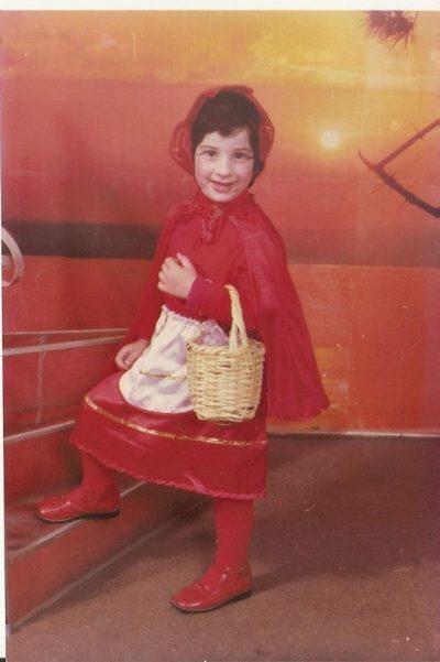 נויה אור יהב בילדותה, צילום מאלבום פרטי