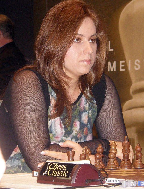 יהודית פולגאר. השחמטאית הטובה בעולם צילום Ygrek