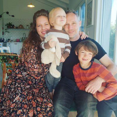 משפחת שוורץ-שלונסקי. צילום ביתי