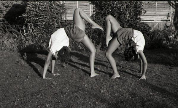 ילדות מתעמלות, שנות החמישים, מתוך ארכיון קיבוץ כנרת