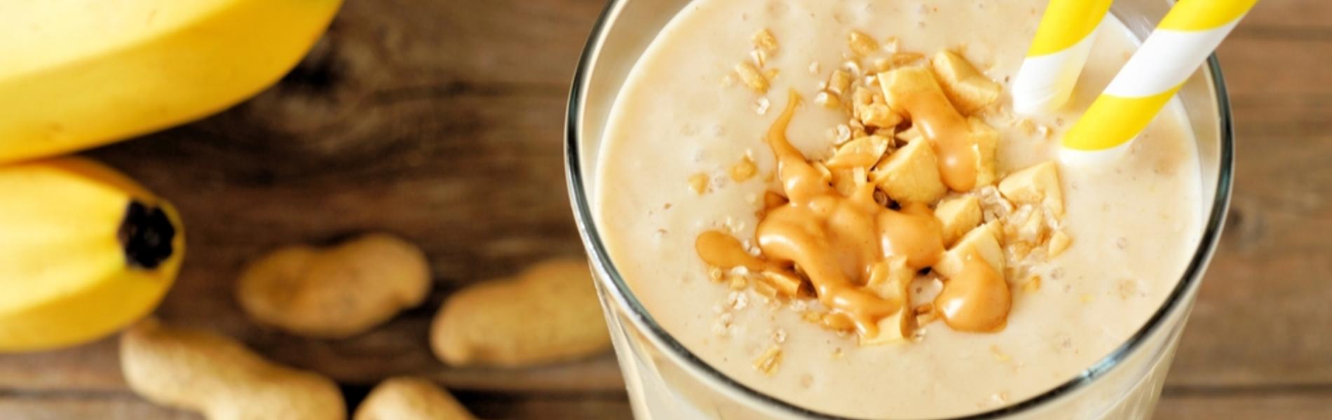 בננה, זרעי צ'יה ויוגורט: שייק אחרי פעילות גופנית