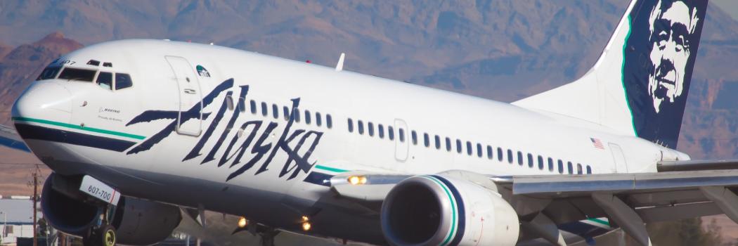 מטוס אלסקה איירליינס. צילום: shutterstock