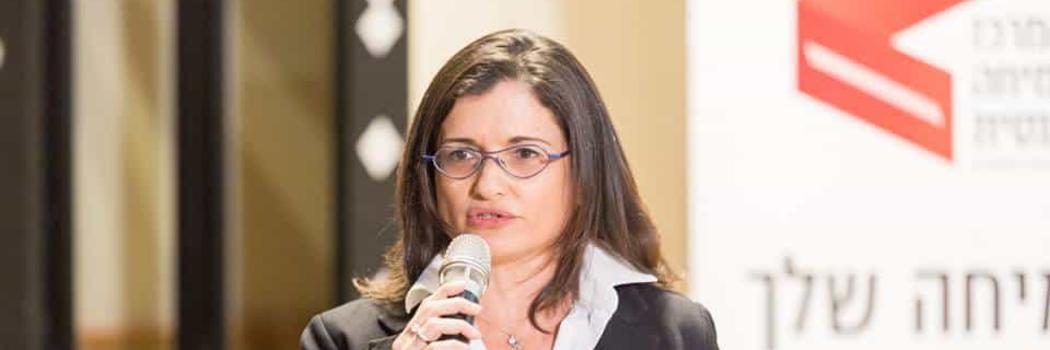 עורכת הדין איריס ירדני . צילום: בני גם זו לטובה