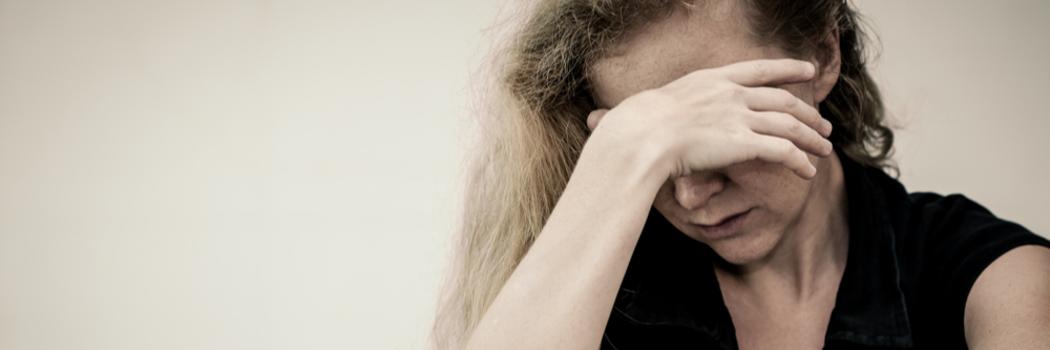 אישה מדוכאת. צילום: Shutterstock