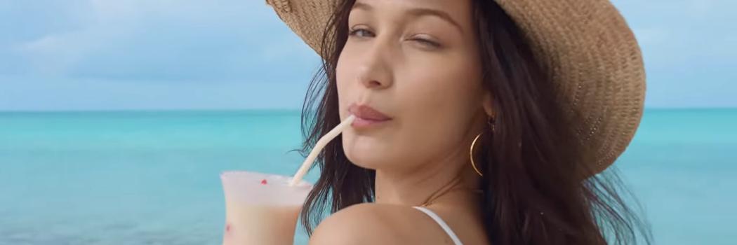 בלה חדיד בפרסומת לפסטיבל פרייה. צילום מסך מתוך יוטיוב
