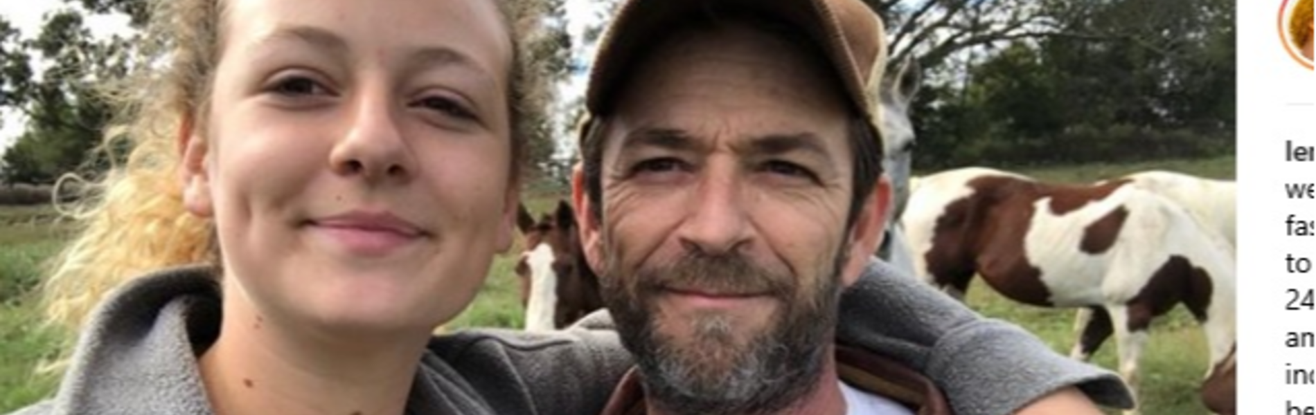 שבוע אחרי מותו: ברשת תוקפים את הבת של לוק פרי