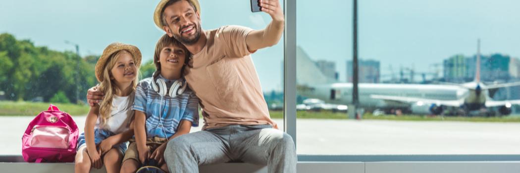 קל: 5 דרכים להעביר את הזמן עם הילדים בטיסה