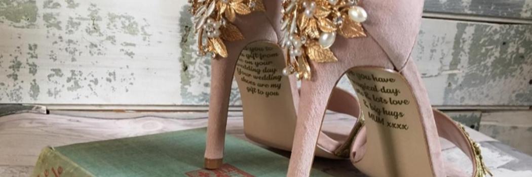 נעלי החתונה. מתוך פייסבוק
