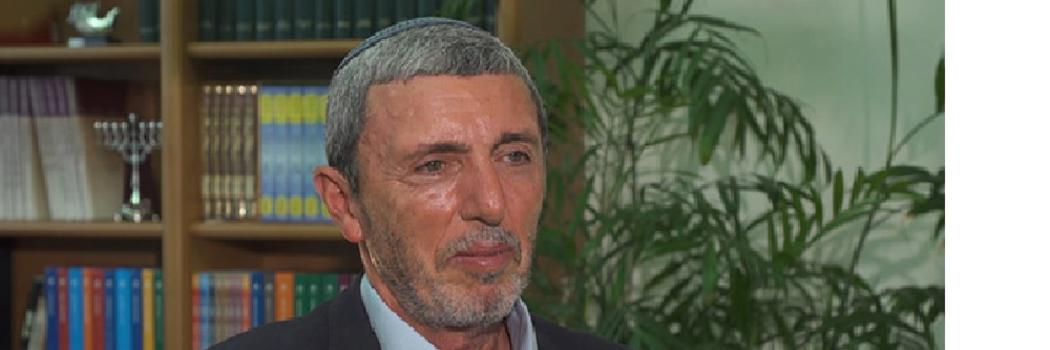 הרב דוד פרץ, צילום מסך חדשות 12