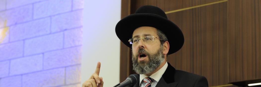 הרב דוד לאו. צילום מתוך ויקיפדיה מאת ישיבת מרכז הרב