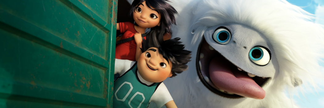(from left) Yi (Chloe Bennet), Peng (Albert Tsai) and Everest in DreamWorks Animation and Pearl Studio's Abominable, written and directed by Jill Culton.
