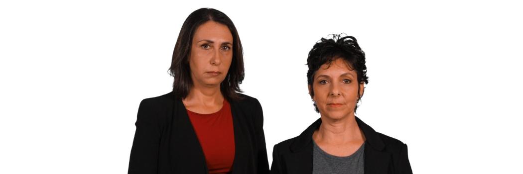 יאנה בריקסמן ויעל לויתן. צילום: מיכאל שטיין