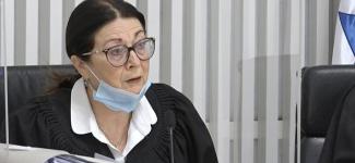יש נשיאה בירושלים: השופטת אסתר חיות הפכה השבוע לגיבורה בשר ודם