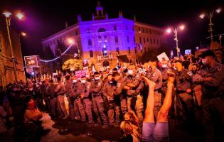 משטרת ישראל משתמשת בתקיפה מינית כנשק לפיזור הפגנות