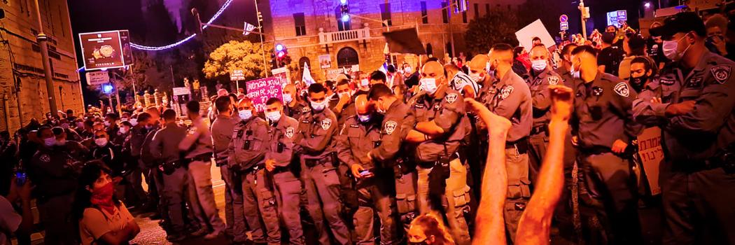 הפגנה בבלפור. צילום מי-טל דנון